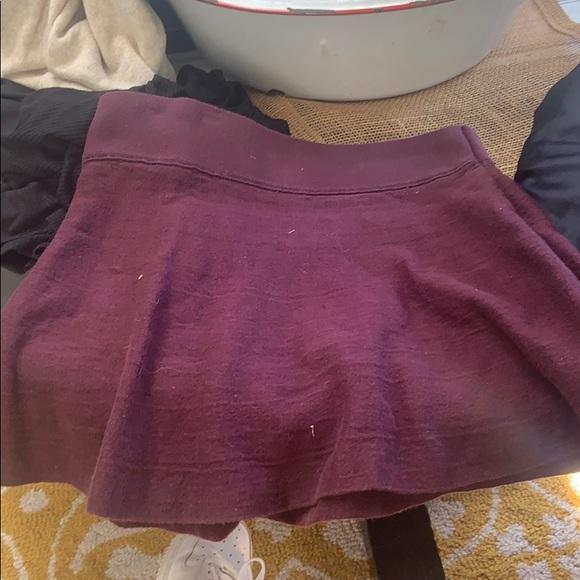 Talula Dresses & Skirts - Maroon mini skirt